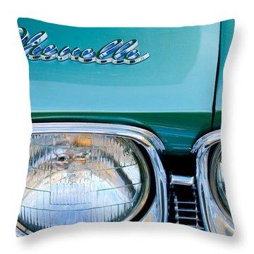 1968 Chevrolet Chevelle Headlight Throw Pillow by Jill Reger