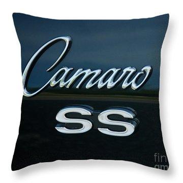 1968 Chevy Camaro Ss Logo Throw Pillow