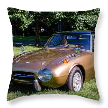 1968 Toyota Sports 800 Throw Pillow
