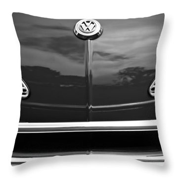 1968 Volkswagen Karmann Ghia Convertible Throw Pillow
