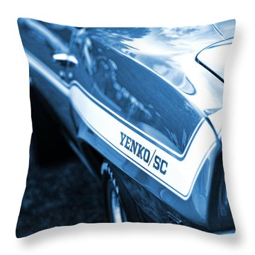 1969 Chevrolet Camaro Yenko Sc 427 Throw Pillow by Gordon Dean II