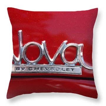 1970 Chevy Nova Logo Throw Pillow