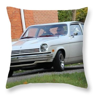1971 Chevrolet Vega Throw Pillow