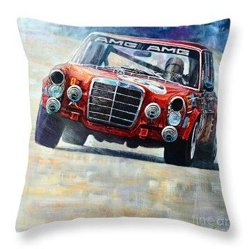 1971 Mercedes-benz Amg 300sel Throw Pillow