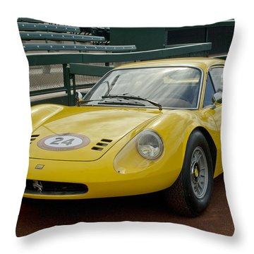 1972 Ferrari Dino 246 Throw Pillow