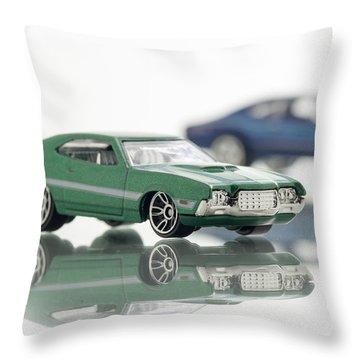 1972 Ford Gran Torino Sport Throw Pillow