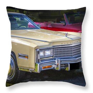 1978 Cadillac Eldorado Throw Pillow