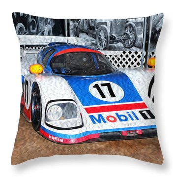 1989 Aston Martin Amr1/4 Throw Pillow