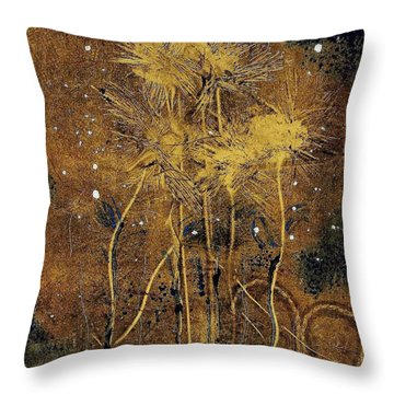 1st Love Throw Pillow by Lesley Fletcher