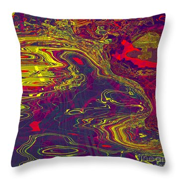 0512 Abstract Thought Throw Pillow by Chowdary V Arikatla