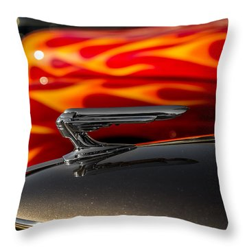 1939 Graham Coupe Hood Ornament Throw Pillow