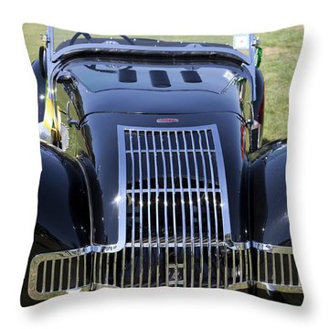1947 Allard K1 Roadster Throw Pillow