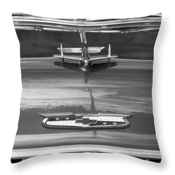 1955 Chevrolet Bel Aire Throw Pillow