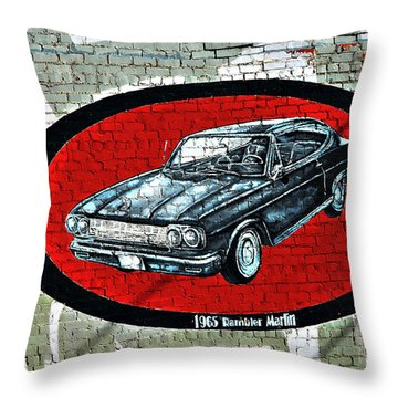 1965 Rambler Marlin Throw Pillow