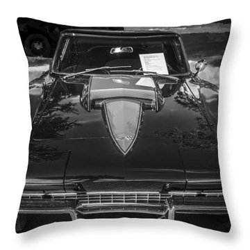 1967 Chevrolet Corvette 427 435 Hp Throw Pillow