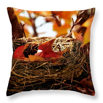 A Clutch Of Color Throw Pillow
