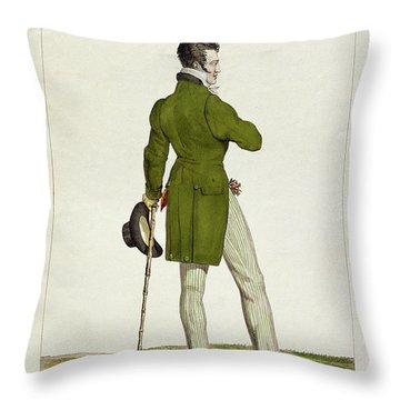 A Dandy  Throw Pillow