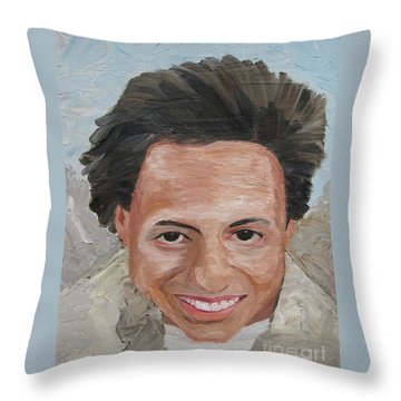 A Time To Be Young Throw Pillow