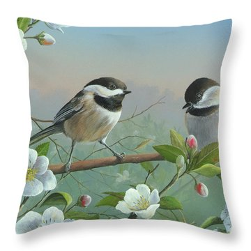 A Wonderful Day Throw Pillow