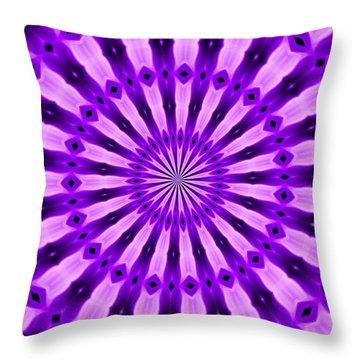 Abstract 122 Throw Pillow by J D Owen