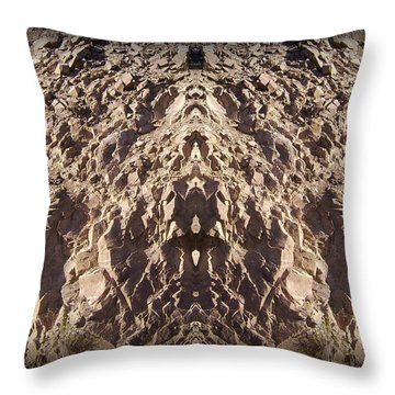 Abstract 25 Throw Pillow by J D Owen
