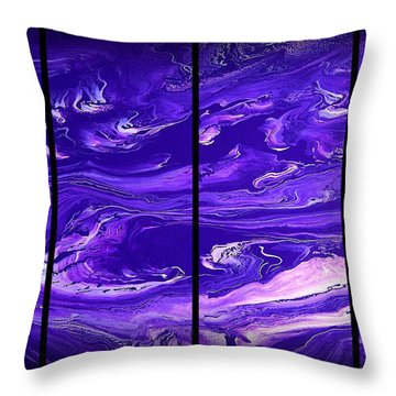 Abstract 60 Throw Pillow