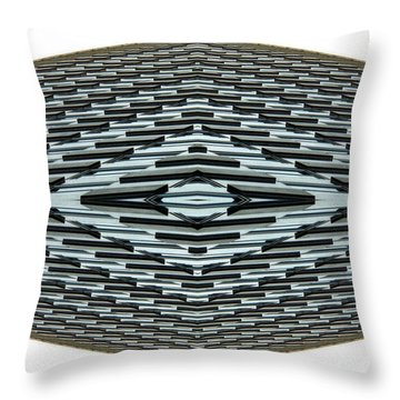 Abstract Buildings 2 Throw Pillow by J D Owen