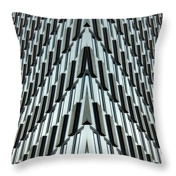 Abstract Buildings 4 Throw Pillow by J D Owen