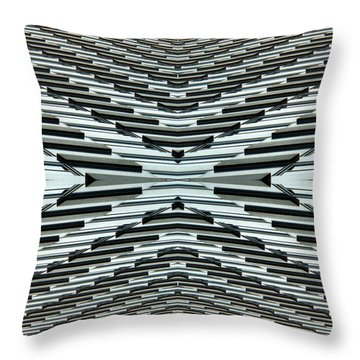 Abstract Buildings 5 Throw Pillow by J D Owen