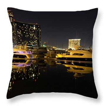 After Dark Throw Pillow by Heidi Smith