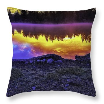 After The Rising Throw Pillow