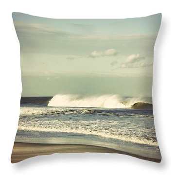 After The Storm Throw Pillow by Terry DeLuco