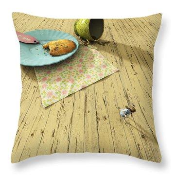 Alice Throw Pillow by Cynthia Decker