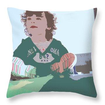 Altogether Throw Pillow by Nick David