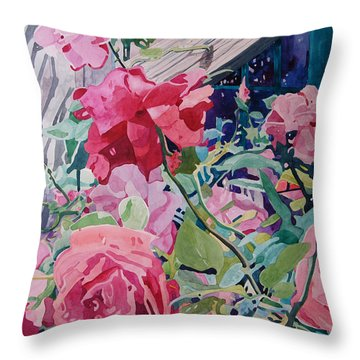 American Beauty Throw Pillow