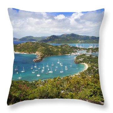 Throw Pillow featuring the photograph Antigua by Brian Jannsen