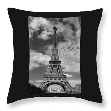 Architectural Standout Bw Throw Pillow