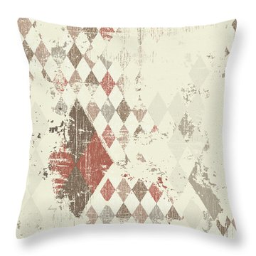 Argyle Explosion Throw Pillow by Brenny Moore