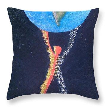 Atlas Throw Pillow by Steve  Hester