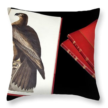 Accipitridae Throw Pillows