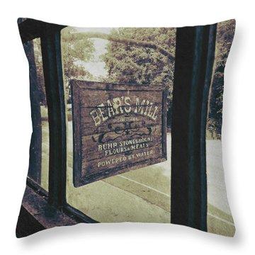 Bear's Mill Throw Pillow