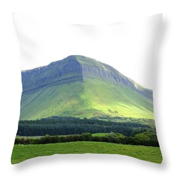 Ben Bulben Throw Pillow