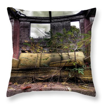 Big Comfy Couch Throw Pillow by Amy Cicconi