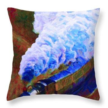 Billowing Throw Pillow