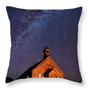 Bodie Church Throw Pillow