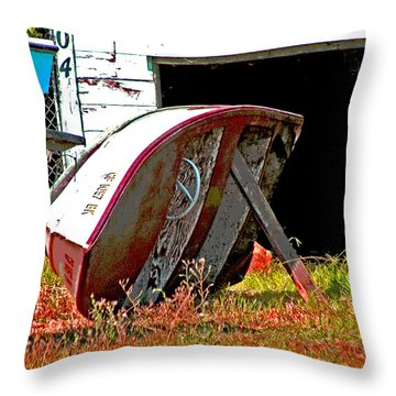 Bottom Up Throw Pillow
