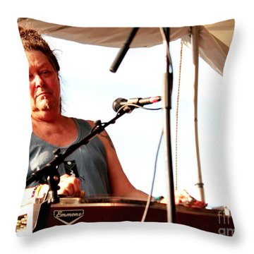 Buddy Cage Throw Pillow by Jesse Ciazza