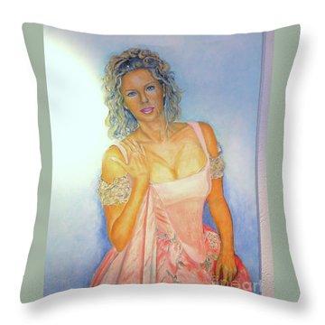 Buhlschaft Throw Pillow