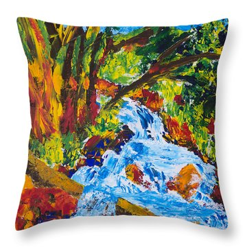 Burch Creek Throw Pillow