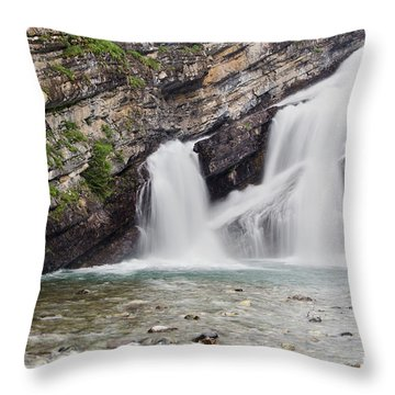 Cameron Falls Throw Pillow